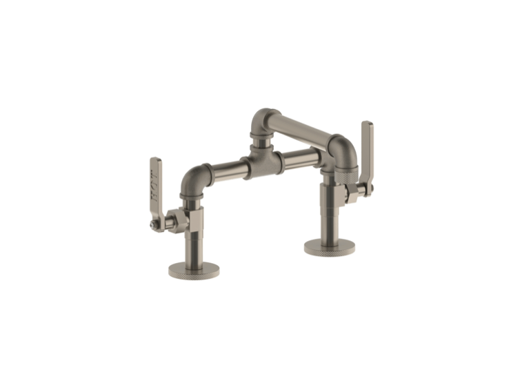 new wave of industrial looking faucets