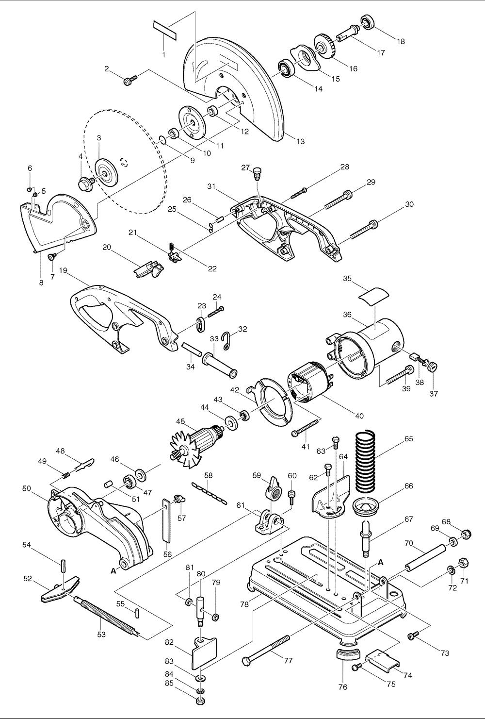 Stunning dewalt miter saw parts diagram contemporary best image