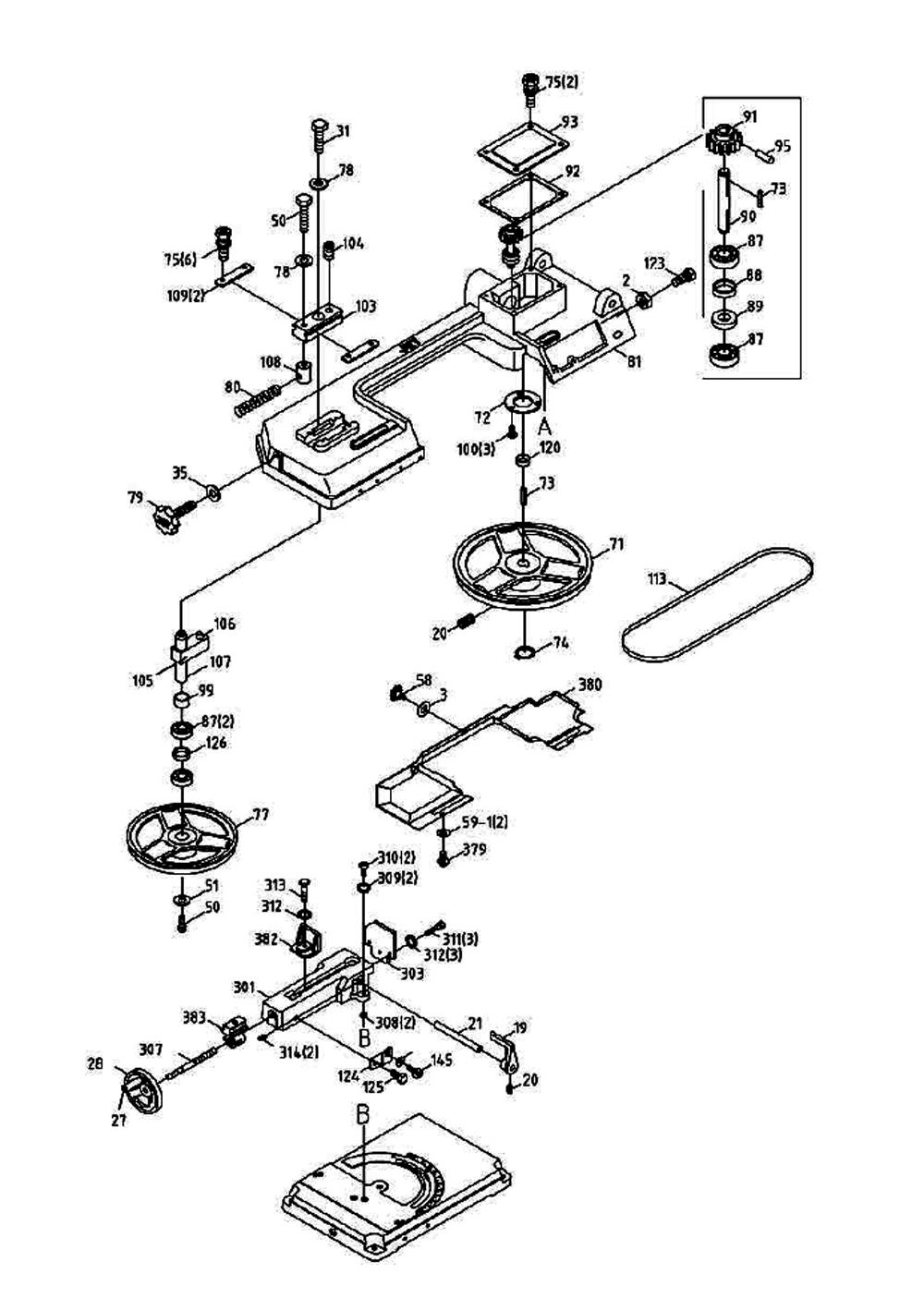 Jet band saw wiring diagram wire diagram 2011 mazda 6 powerstroke 414457 jet pb jet band