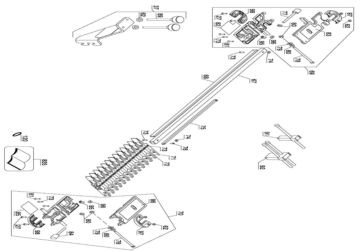 Porter Cable Parts List