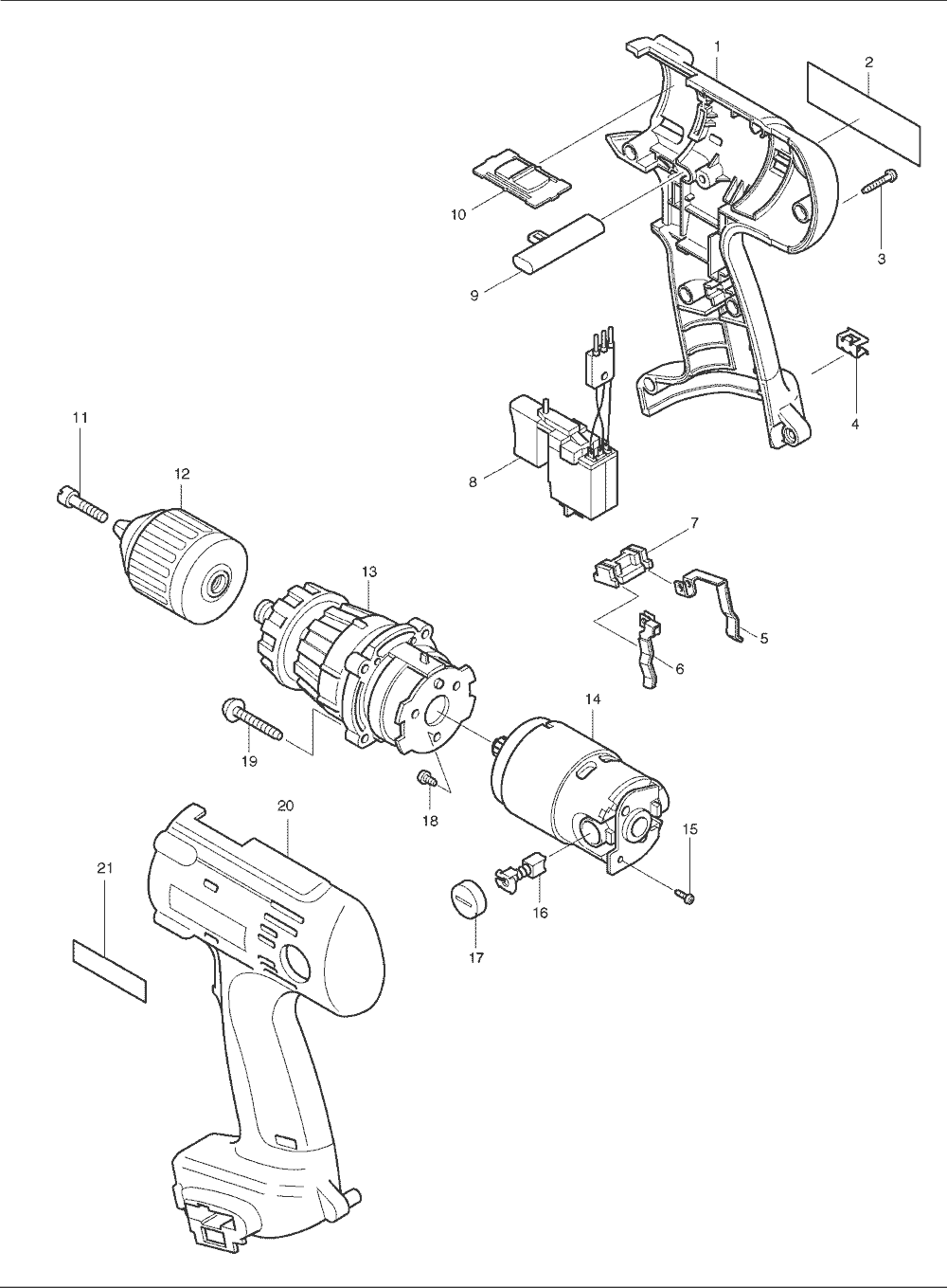 Astounding makita wiring diagrams gallery best image diagram amazing makita drill wiring diagram pictures best image