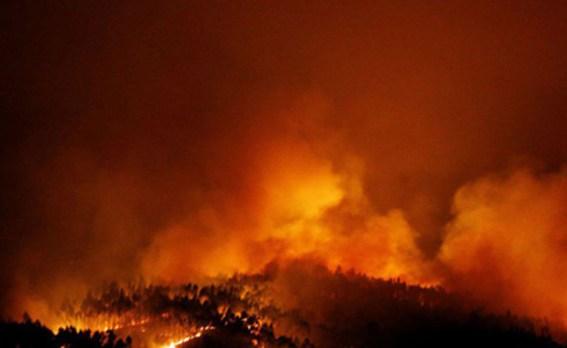 שריפות ענק בפורטוגל