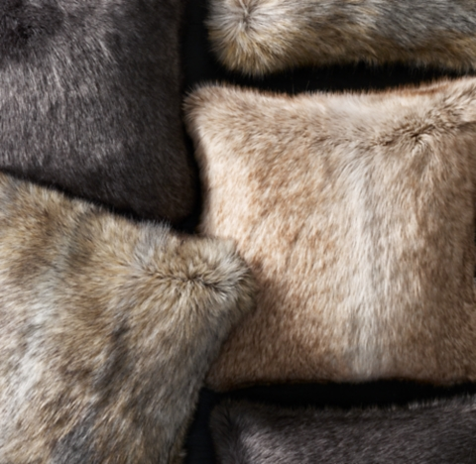 ultimate faux fur pillow cover