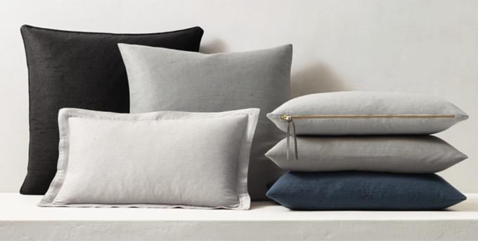 custom pillows rh