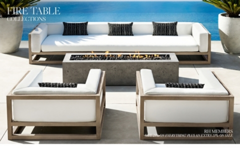 Find quality garden & patio products to add to your shopping list or order. Fire Table Collections   RH