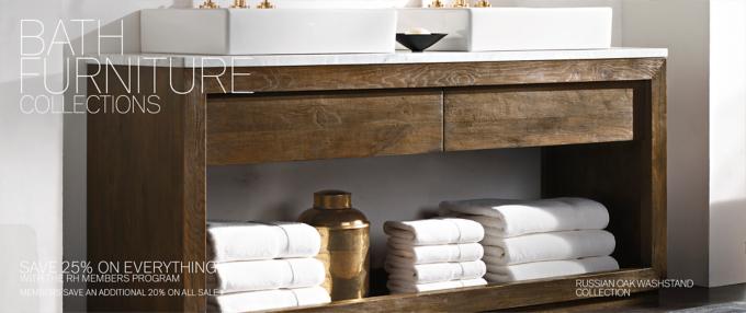 bath collections rh modern