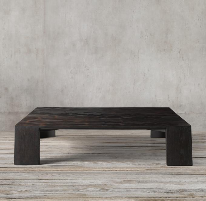 square coffee tables rh