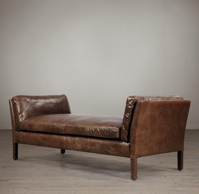 6 Sorensen Leather Bench