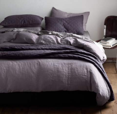 Garment Dyed Linen Bedding Collection