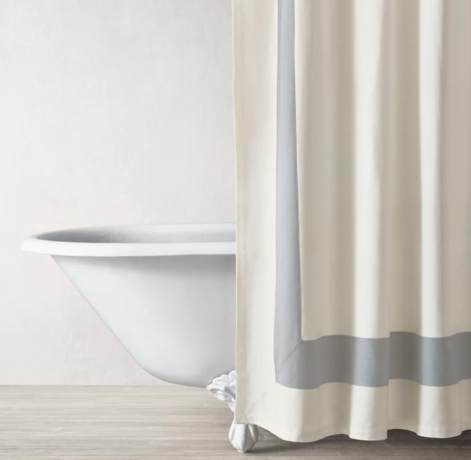 shower curtains rods rh