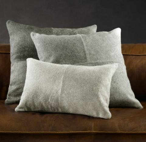 south american cowhide pillow cover