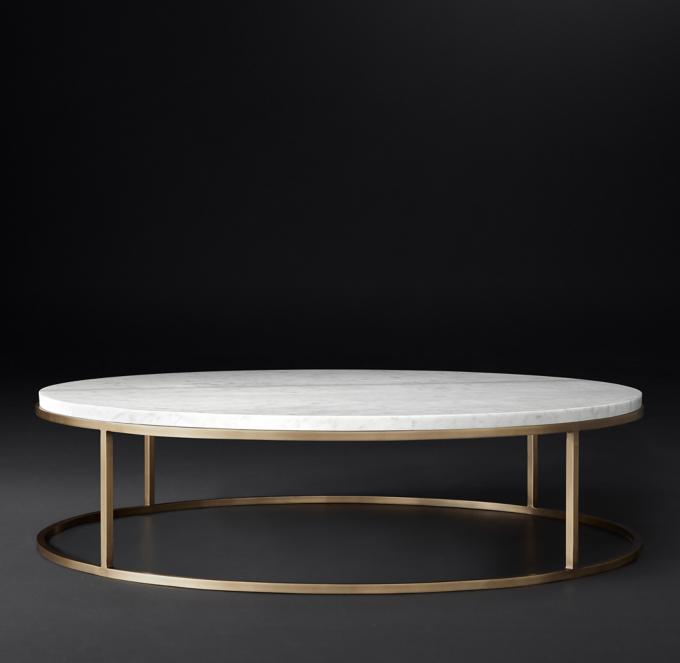 Nicholas Marble Round Coffee Table