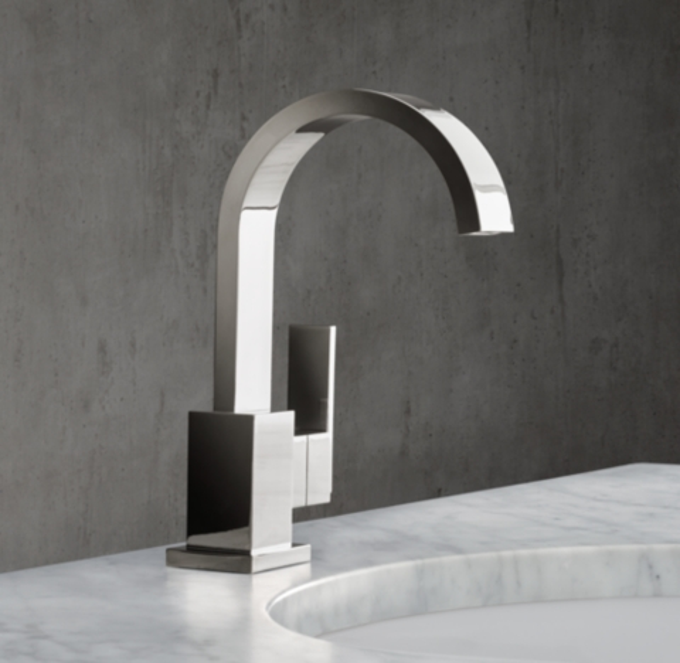 modern single hole faucet