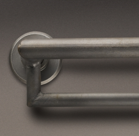 industrial hand forged double hotel rod