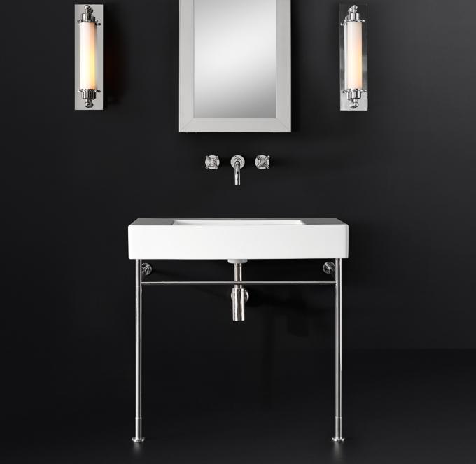 duravit vero wall mount console sink