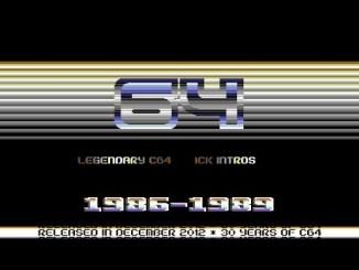 64 Legendary C64 Cracktros | 1986-1989