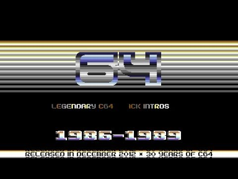64 Legendary C64 Cracktros | 1986-1989