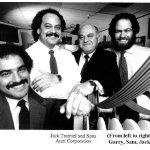 Jack Tramiel med söner på Atari Corp. runt 1985