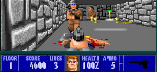 Wolfenstein 3D - Ett av spelen vi minns från förr