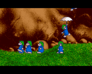 Lemmings av Psygnosis