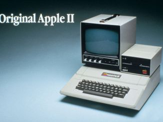 Apple II with DIsc II and Apple Monitor II from 1977