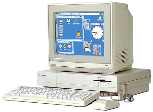 The Commodore Amiga 1000 from 1985