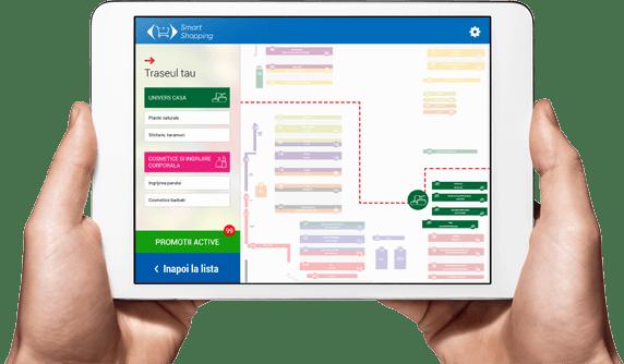 Carrefour mobile application - tablet