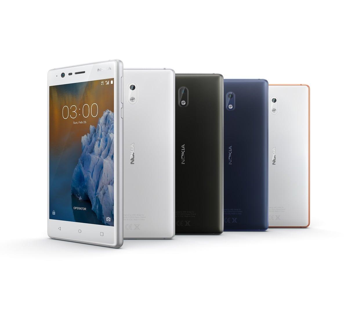 Gama Nokia 3