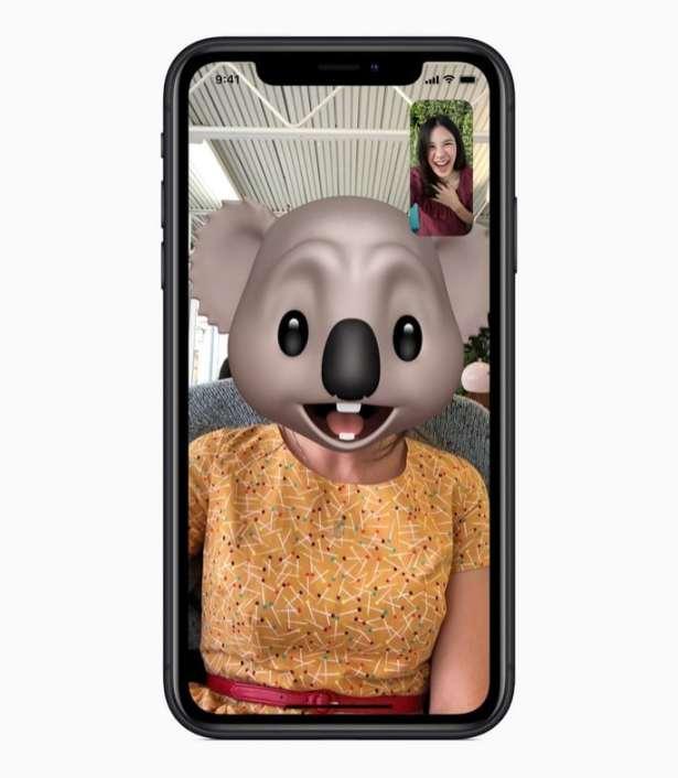 iPhone XR Memoji