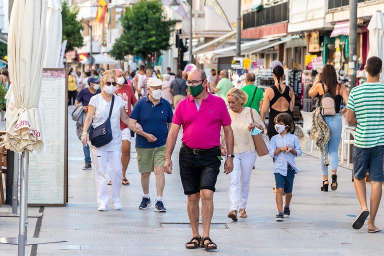 masca de protectie spania