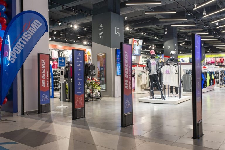Sportisimo a deschis magazinul cu numărul 35 din România în Mega Mall București