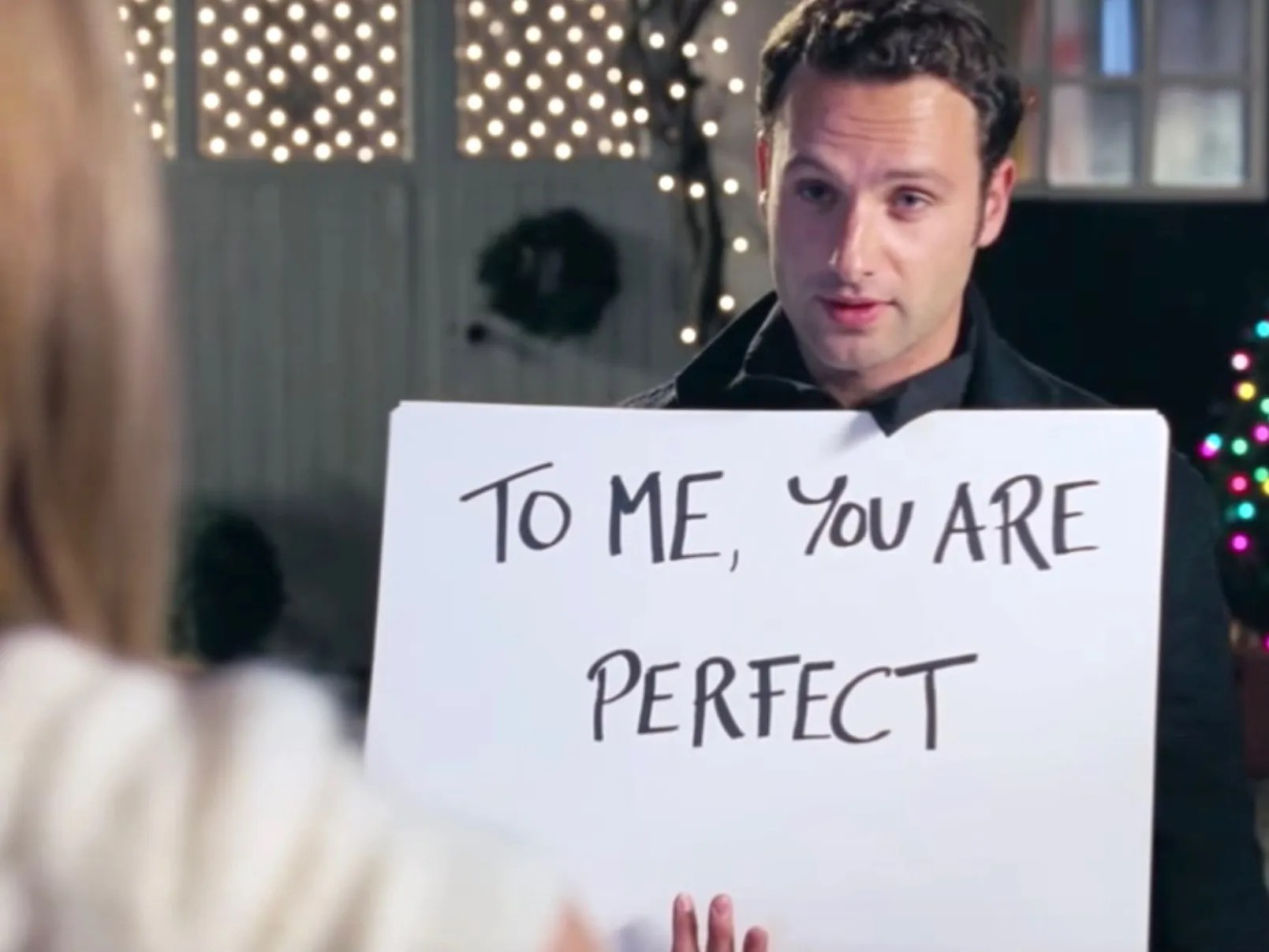 Resultado de imagen para love actually to me you are perfect