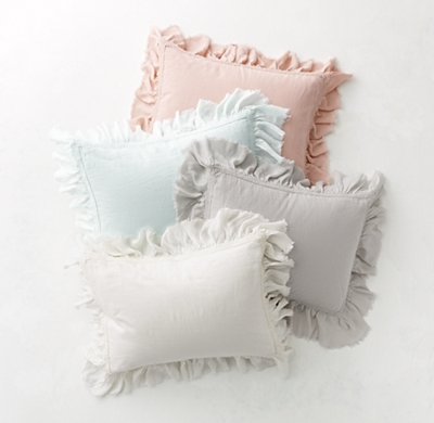 Tattered Ruffle Amp Vintage Crochet Trimmed Bedding Collection
