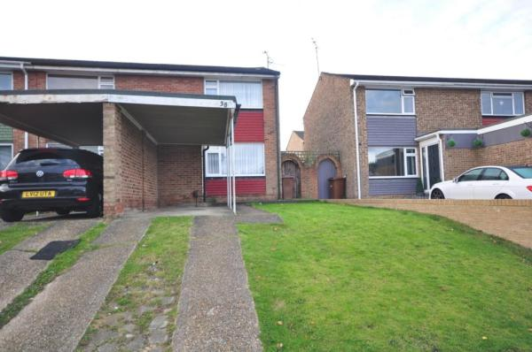 2 bedroom end of terrace house to rent in Brindle Way ...