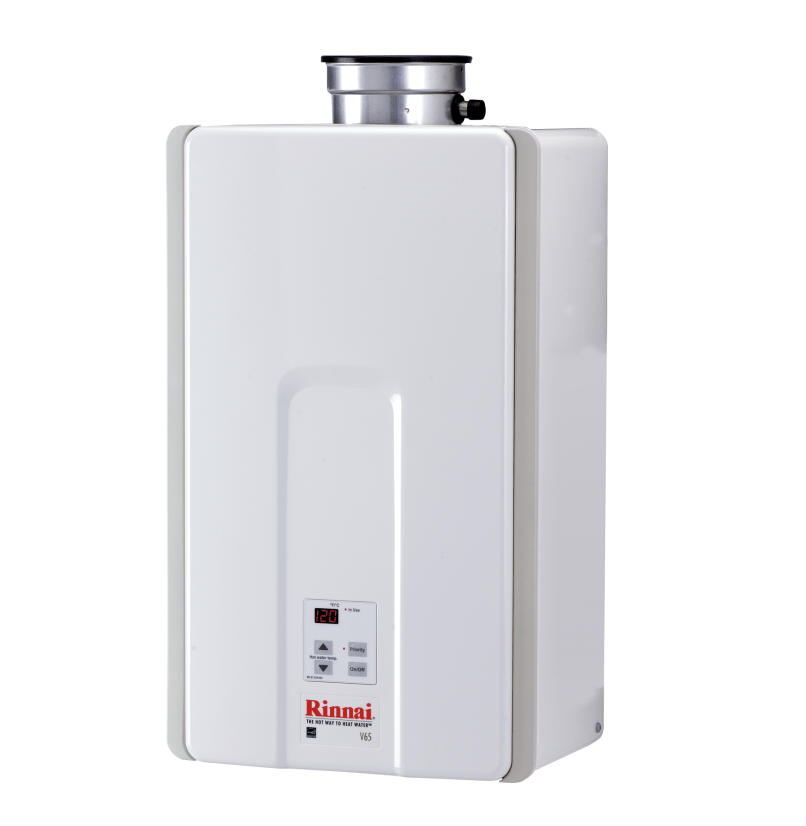V65in Tankless Water Heater Rinnai