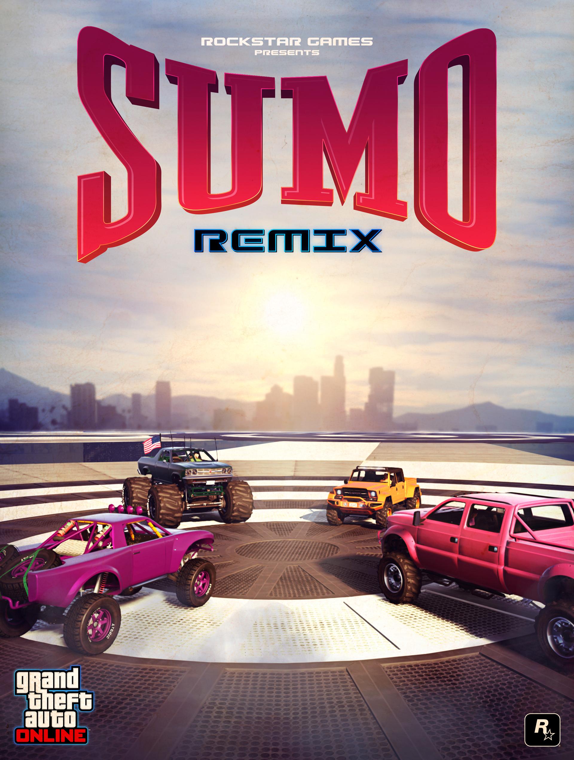 Affiche Sumotorisé remix