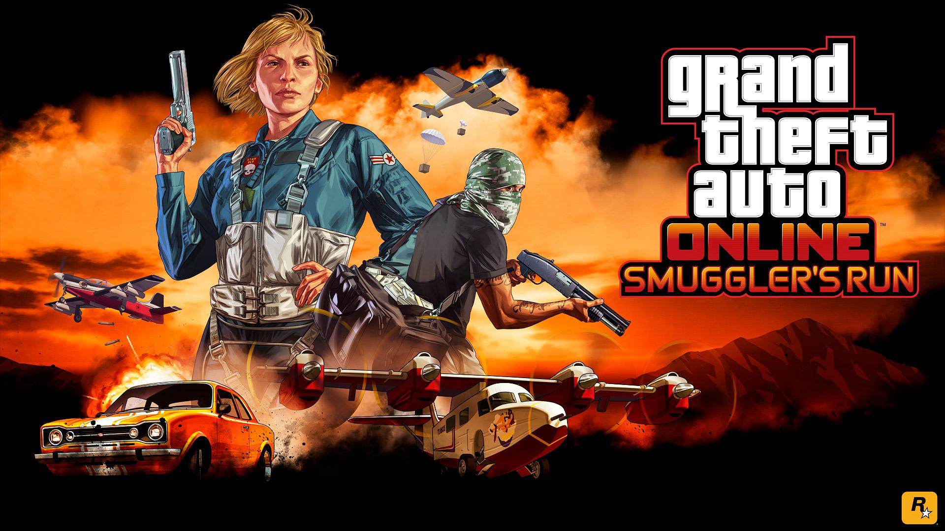 Next Up in GTA Online: Smuggler's Run – Watch the Trailer - Rockstar Games