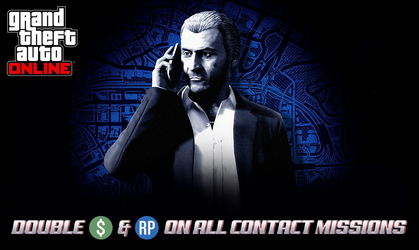Double GTA$ & RP on All Contact Missions, Client Jobs & Rockstar Stunt Races - Rockstar Games