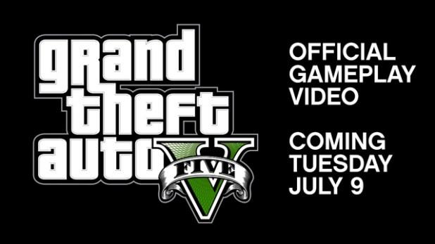 GTA V OFFICIAL GAMEPLAY VIDEO !