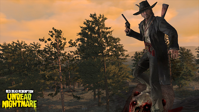 New Undead Nightmare Outfits For John Marston Zombie