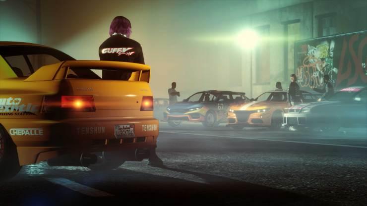 Esta imagem mostra o futuro evento Los Santos Car Meet no GTA Online.