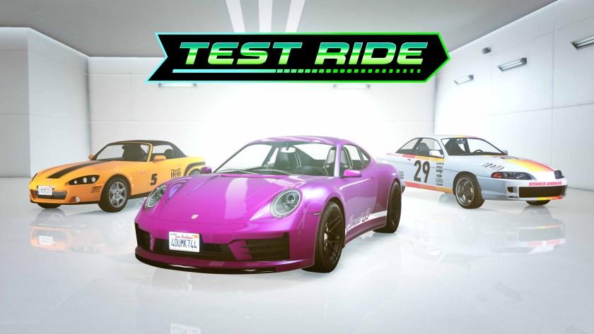 Test Ride cette semaine dans GTA Online
