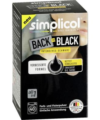 simplicol Back to Black intensives schwarz 13.73 EUR/1 kg