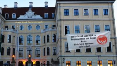 Deutschland sagt NEIN zu Imperialismus und Krieg! Bilderberg-Konferenz 09. Juni 2016 in Dresden blockieren!