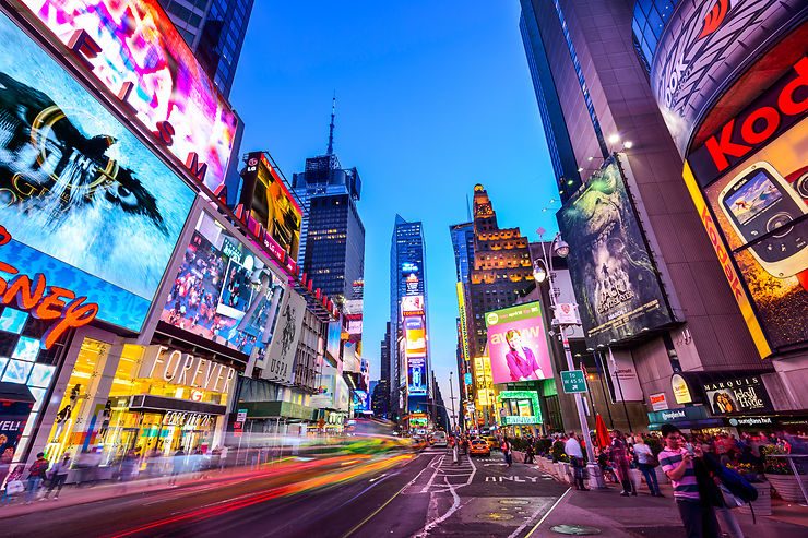 Times Square, New York - Etats-Unis