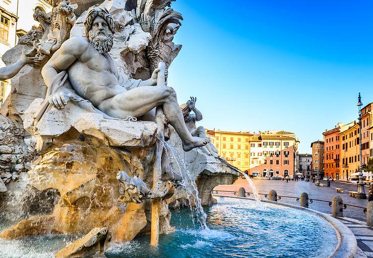 Piazza Navona, Rome - Italie