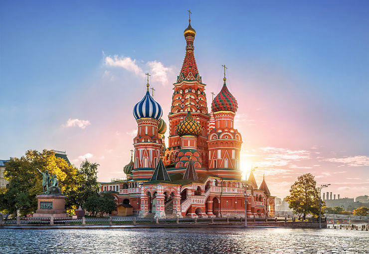 Place Rouge, Moscou - Russie