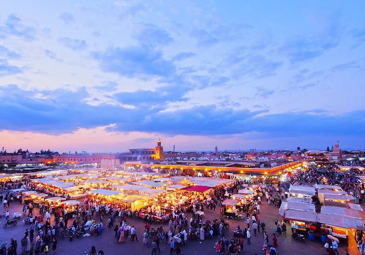Jemaa-el-Fna, Marrakech - Maroc