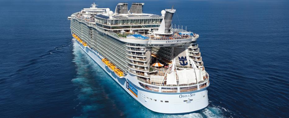Oasis of Seas, el Barco más grande del Caribe