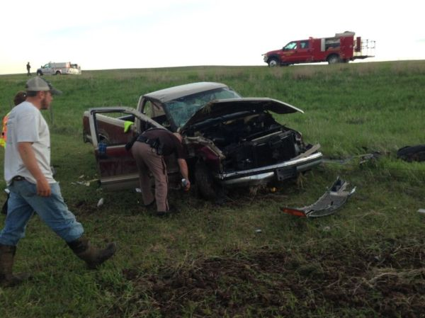 Alcohol involved in Arcadia man's pickup accident
